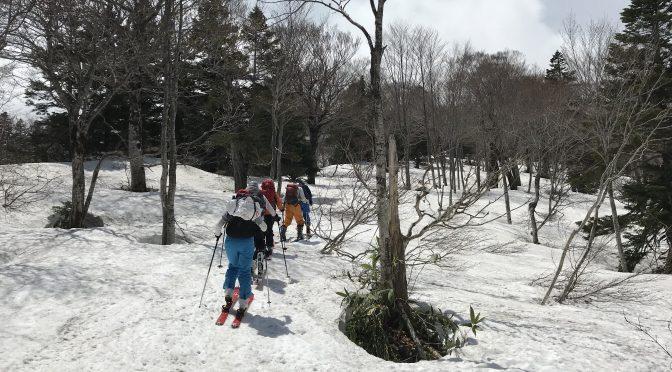 八甲田山 山スキーツアー始まりました!