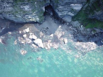 塩谷「青の洞窟」SUP
