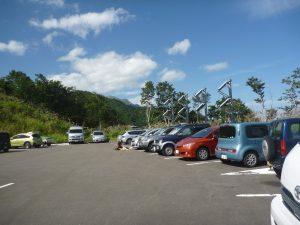 40syuku P1020092 parking